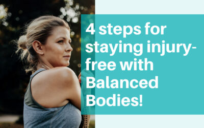 Hypermobility and the 4 steps for staying injury-free with Balanced Bodies