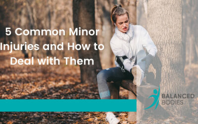 5 Common Minor Injuries and How to Deal with Them